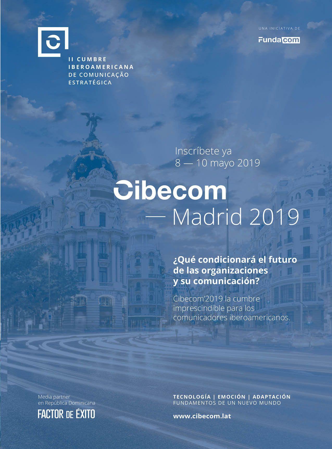 El congreso Iberoamericano de Comunicación Estratégica, ya ha abierto sus puertas