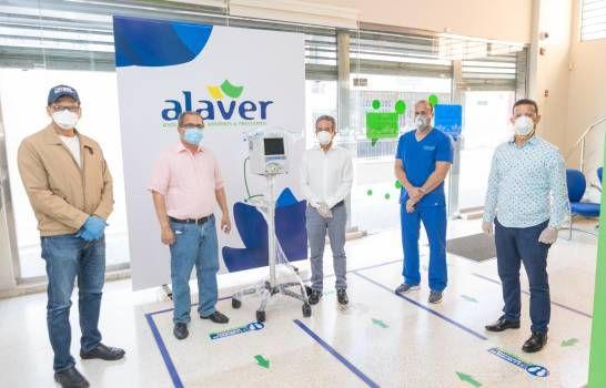 Alaver dona ventilador para tratar pacientes con COVID-19