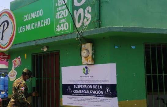 Pro Consumidor cierra establecimientos comerciales en el Gran Santo Domingo