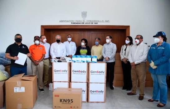 Empresarios de Santiago donan equipos e insumos médicos valorados en RD$30 millones